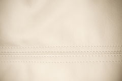 White leather Royalty Free Stock Photography