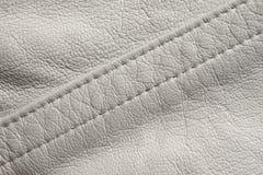 White leather macro Royalty Free Stock Photos