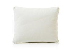White Leather Pillow Royalty Free Stock Photo