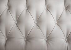 White leather sofa Royalty Free Stock Photo