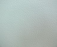 White Leather Texture. Lighting from top left Royalty Free Stock Images