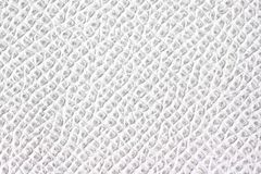 White leather texture Royalty Free Stock Image