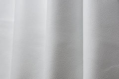 White leather texture background close up macro Royalty Free Stock Images