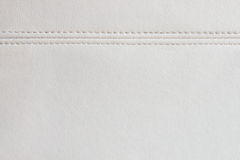 White leather texture background Royalty Free Stock Images