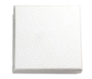 White leather texture box Stock Image