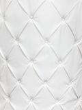 White leather texture with buttons Stock Images