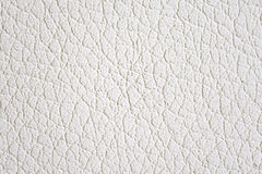 White Leather Texture Stock Photography