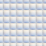 White leather upholstery seamless Royalty Free Stock Photography