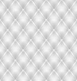 White leather upholstery seamless background Stock Image