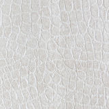 White leatherette texture for background. Royalty Free Stock Image