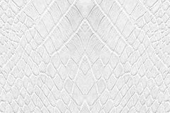 White leatherette texture Royalty Free Stock Image