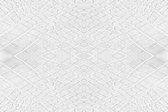 White leatherette texture Royalty Free Stock Images