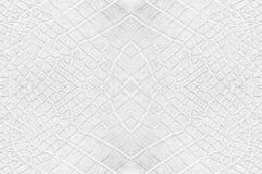 White leatherette texture Stock Photo