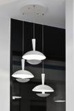 White Led  ceiling light Stock Photo