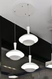 White Led  ceiling light Royalty Free Stock Image