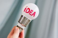 Another new bright idea appeared stock illustration