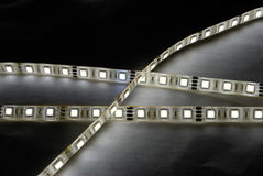 White led strip Stock Images