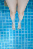 White Legs Royalty Free Stock Photography