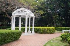 White leisure Pavilion Royalty Free Stock Images