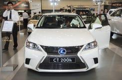 White Lexus ct 200h car Stock Photography