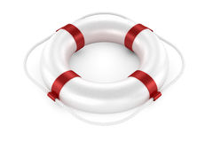 White life preserver Stock Photography