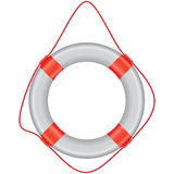 White lifebuoy Stock Photos