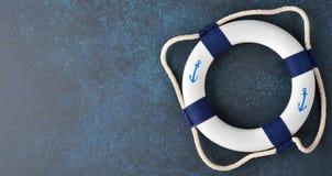 white lifebuoy Fotografia Stock