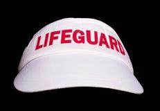 White lifeguard hat Royalty Free Stock Image