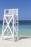 White Lifeguard Tower Royalty Free Stock Photography