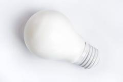 White light bulb Royalty Free Stock Photos
