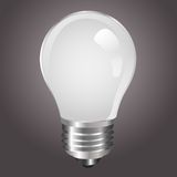 White light bulb Stock Images