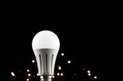 White light bulb. royalty free stock photo