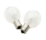 White light bulbs Royalty Free Stock Photography