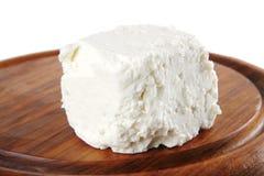 White light cheese Stock Photo