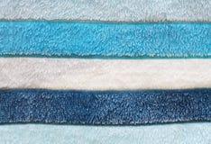White light dark blue cloth fibre fiber Stock Photography