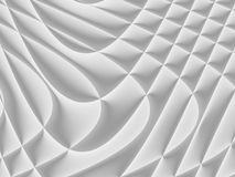 White and light grey futuristic pattern. Monochromatic design fo. R backgrounds, templates, backdrops, surface, textile and fabric designs. 3d render royalty free illustration