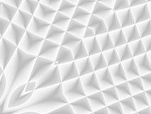 White and light grey futuristic pattern. Monochromatic design fo. R backgrounds, templates, backdrops, surface, textile and fabric designs. 3d render vector illustration