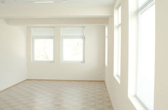 White and light interior stock photos