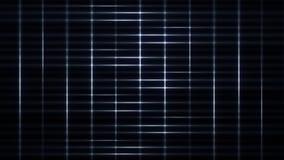 White Light Streaks Grid Loop Motion Background