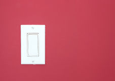 White light switch Stock Images