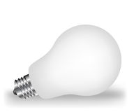 White lightbulb Royalty Free Stock Image