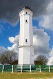 White lighthouse Royalty Free Stock Image