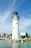 White lighthouse Royalty Free Stock Photos