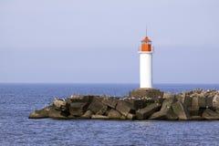 Free White Lighthouse Royalty Free Stock Photos - 26281058