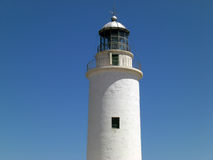 White Lighthouse Stock Image