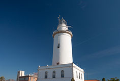 White lighthouse Royalty Free Stock Image