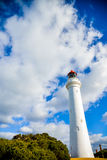 White lighthouse3. White lighthouse with the blue sky Royalty Free Stock Photos