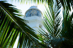 White lighthouse Dondra Head Stock Photos