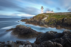 White Lighthouse, Fanad Head, County Donegal, North Ireland Stock Photography