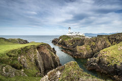 White Lighthouse, Fanad Head, North Ireland Stock Photo